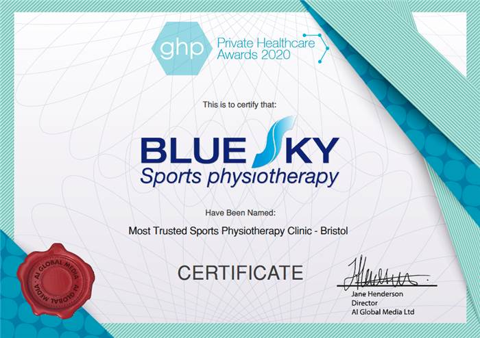 Private Healthcare Awards Certificate